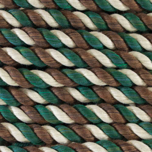 3-Strand Twisted Cotton 1/4 inch Rope - Camouflage