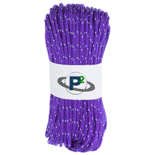 Acid Purple - Reflective 95 Paracord - Spools