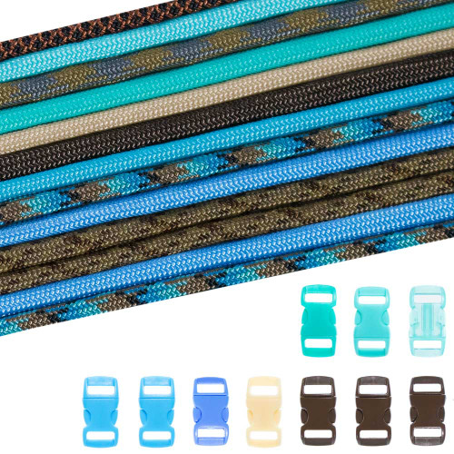 Surf City - Combo Kit (Paracord & Buckles)