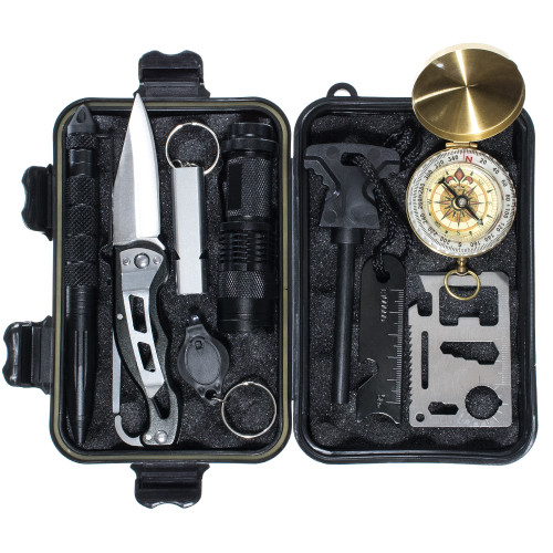 8 Piece Multi Tool Kit - Inside