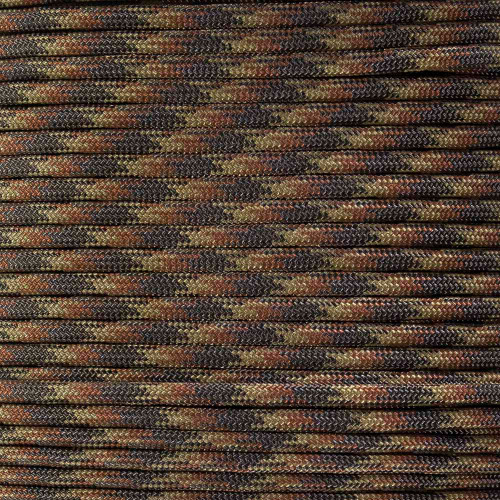 Brown Blend 550 Paracord (7-Strand) - Spools