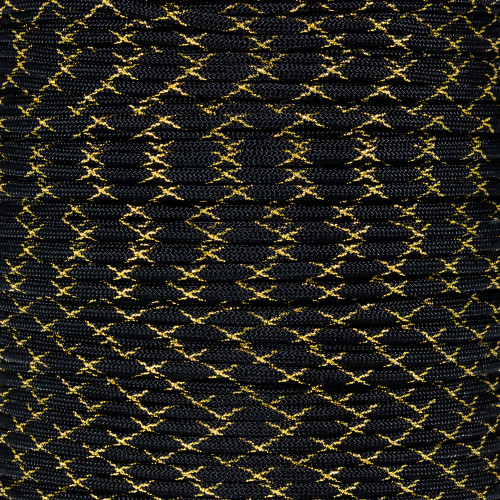 Gold Knight 550 Paracord (7-Strand) - Spools with Metallic Tracers