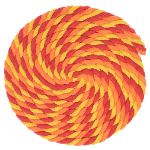 1/2 Twisted Cotton Rope - Blazin