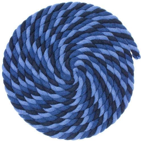 1/2 Twisted Cotton Rope - Chill