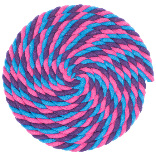 1/2 Twisted Cotton Rope - Flora
