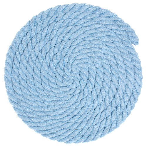 1/2 Twisted Cotton Rope - Ice