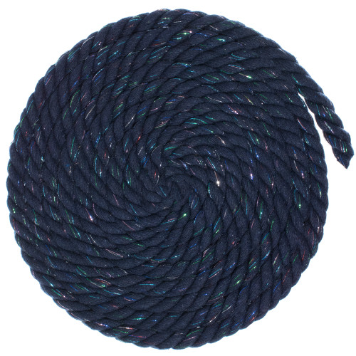 1/2 Twisted Cotton Rope - Starry Night