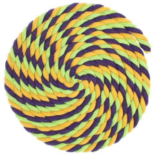 1/2 Twisted Cotton Rope - Tootie Fruity