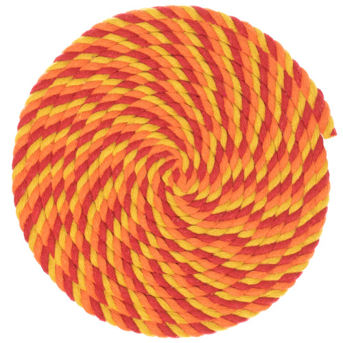 1/4 Twisted Cotton Rope - Blazin