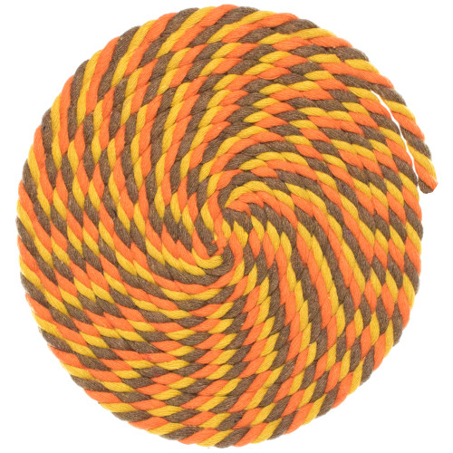 1/4 Twisted Cotton Rope - Fall
