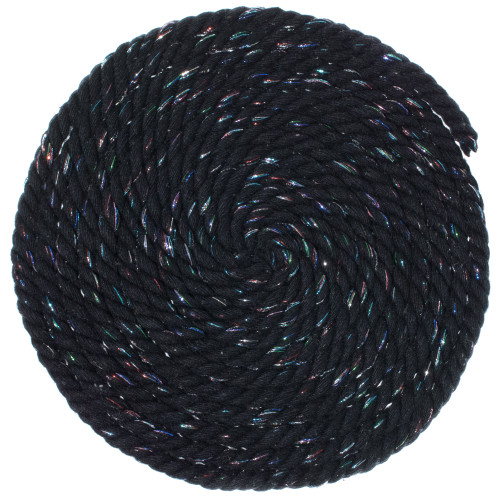 1/4 Twisted Cotton Rope - Midnight
