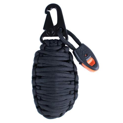 Black 14-in-1 Paracord Grenade Kit