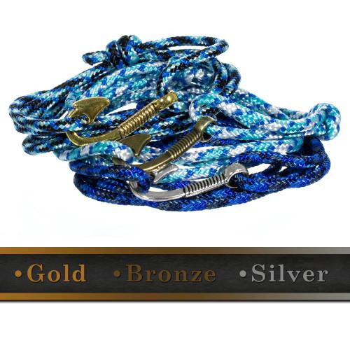 Fish Hook Bracelet - Multiple Colors