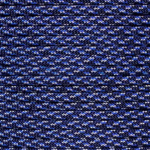 Blue Speck Camo - 550 Paracord - 100 Feet