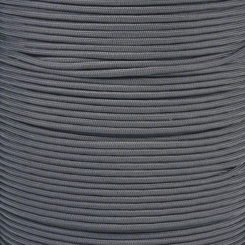Charcoal Gray - 550 Paracord - 100 Feet