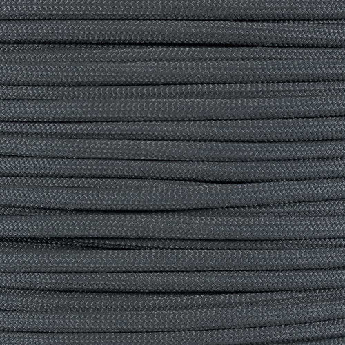 Gunmetal Gray - 550 Paracord - 100 Feet