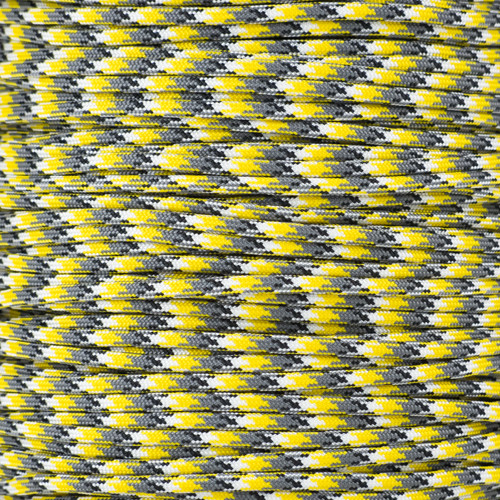 Yellow Camo - 550 Paracord - 100 Feet