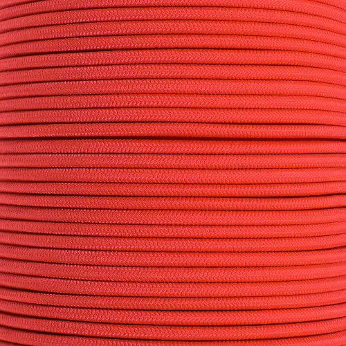 "Scarlet Red 1/8"" Shock Cord - Spools"