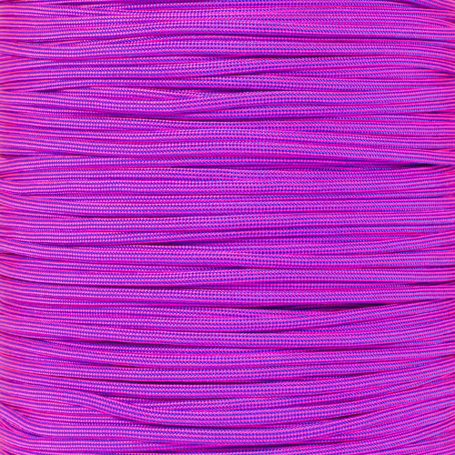 Electric Blue and Neon Pink Stripes - 550 Paracord