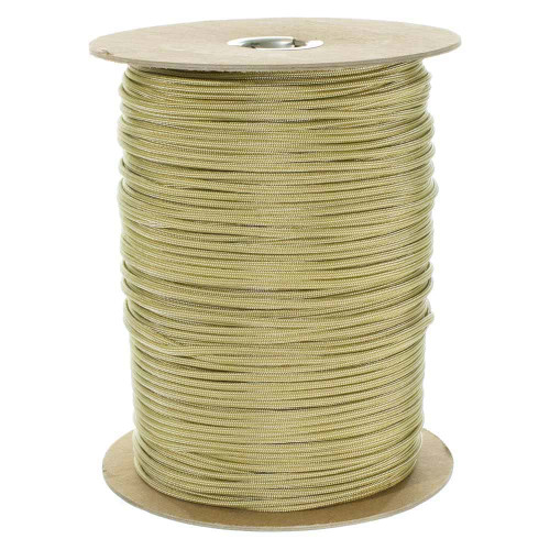 Gold and Silver Stripes  550 Paracord (7-Strand) - Spools