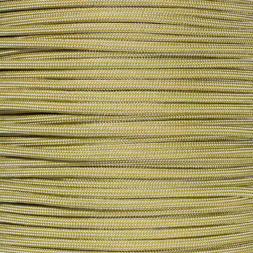 Gold and Silver Stripes - 550 Paracord - 100 Feet