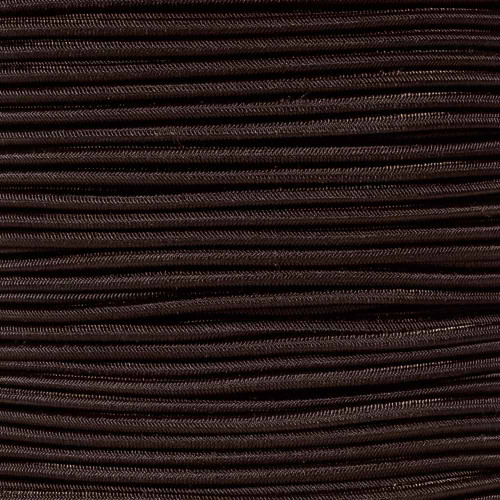 Dark Brown 1/8 inch Shock Cord - Spools