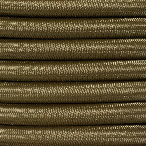 1/2 inch Shock Cord - Coyote Brown