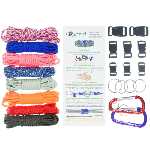 Candy Shoppe - Combo Kit (Paracord & Buckles)