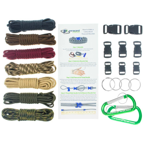 Commando - Combo Kit (Paracord & Buckles)