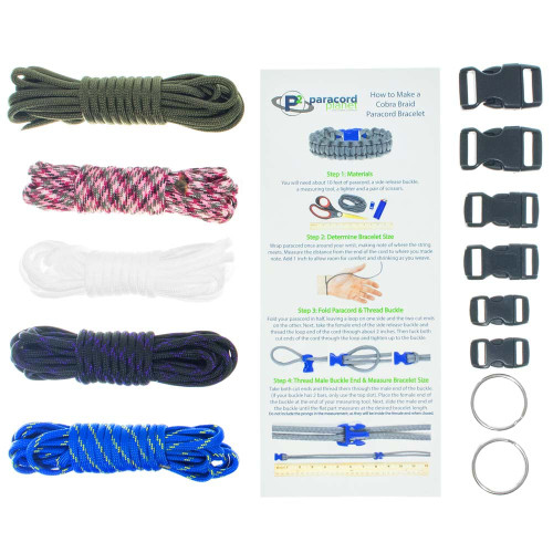 Economy - Combo Kit (Paracord & Buckles)