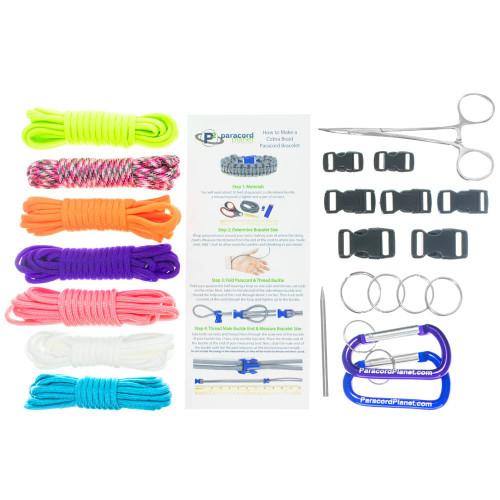 Girls Starter kit - Combo Kit (Paracord & Buckles)