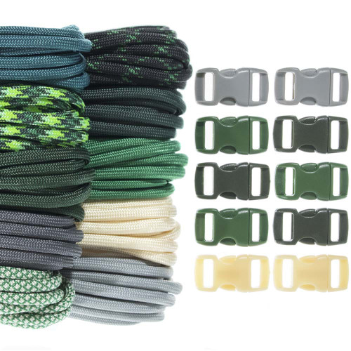 Malachite - Combo Kit (Paracord & Buckles)