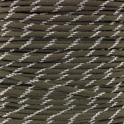 Glow in The Dark Olive Drab - 550 Paracord