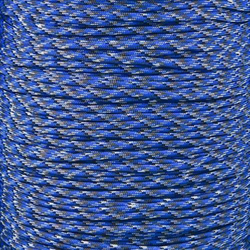 Blue Camo 550 Paracord