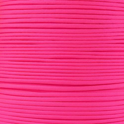Neon Pink 550 7-Strand Commercial Grade Paracord