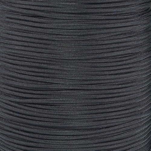 Black 550  7-Strand Commercial Grade Paracord