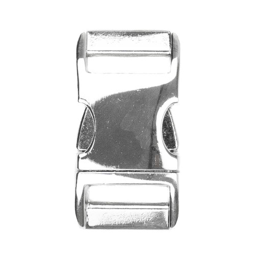 "Aluminum Side-Release Buckle - 3/4"" - Polished"