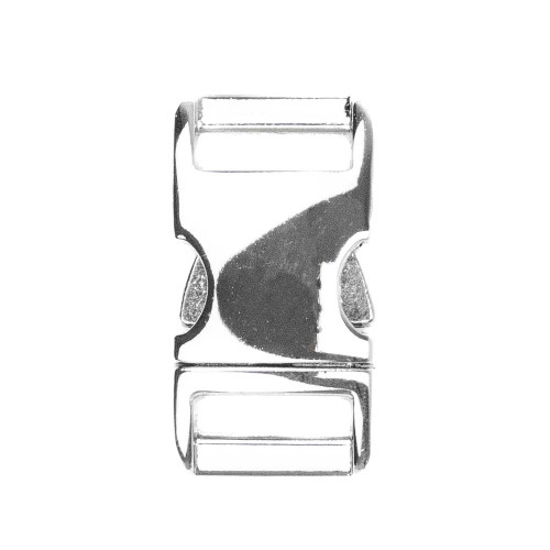 "Aluminum Side-Release Buckle - 5/8"" - Polished"