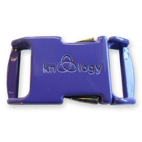 Knottology Nito .5 Buckles - Purple