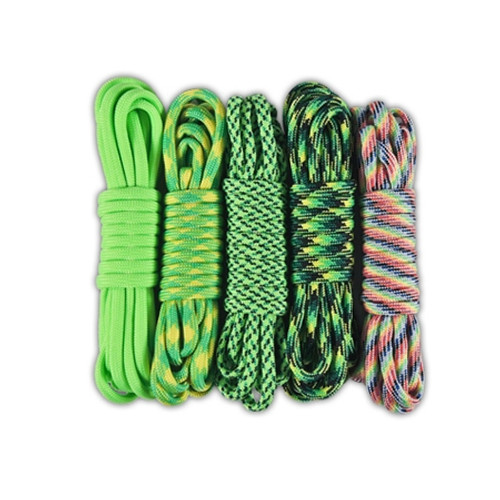 Combo Kit 50' 550 Paracord - Veggies