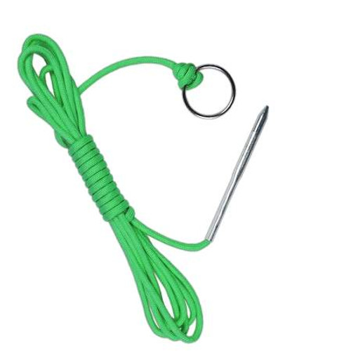 "10' Paracord Fishing Stringer - ""Hook"""