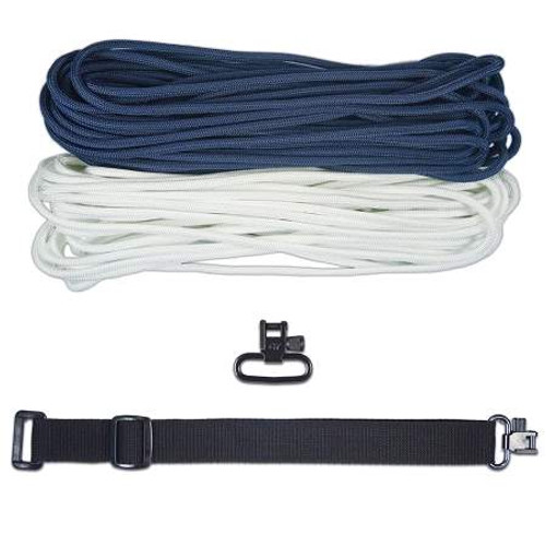"DIY 43"" King Cobra 550 LB Paracord Strap - FS Navy"