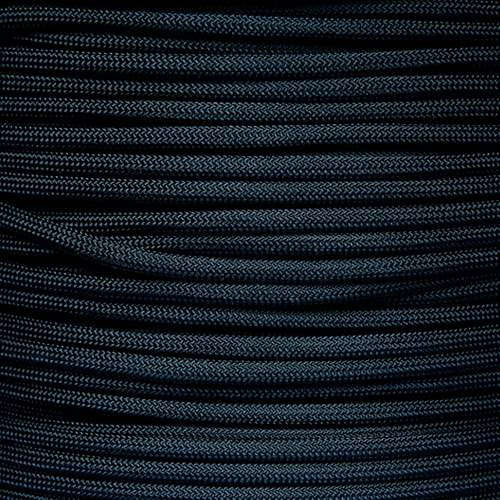 550 7 Strand  Military Spec Paracord MIL-C-5040H Black