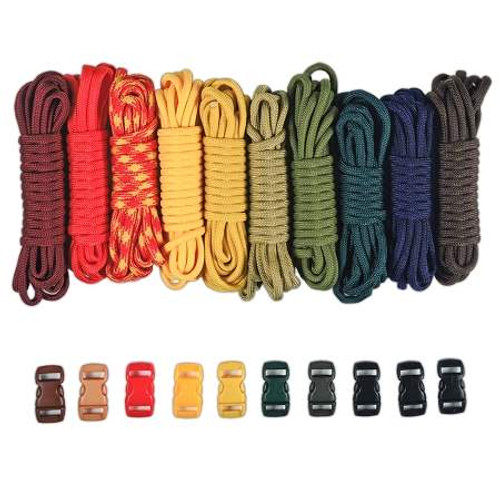 Paracord & Buckles Combo Kit - Boy Scouts