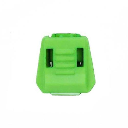 Green Zipper Pull Tabs