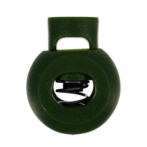 Olive Drab Single-Hole Cord Locks
