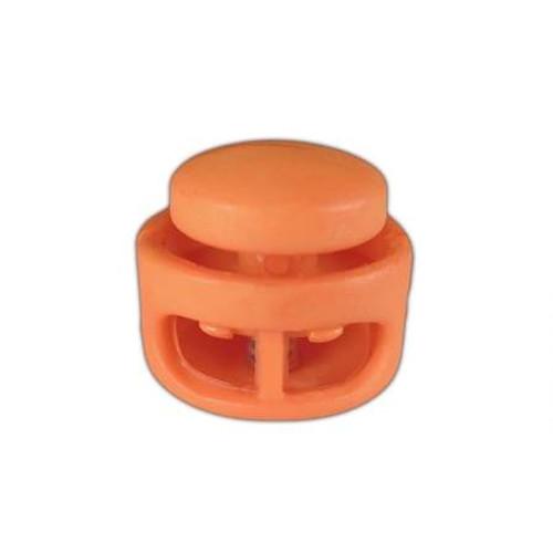 Orange Two-Hole Cord Locks