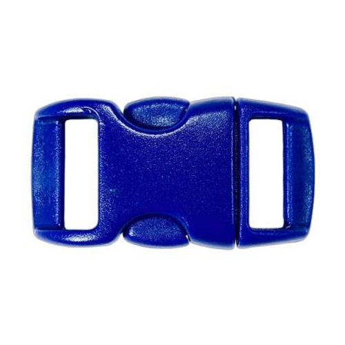 "Contoured Side-Release Buckle - 3/8"" - Blue"