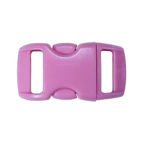 """Contoured Side-Release Buckle - 3/8"""" - Pink"""