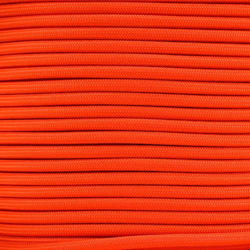 Neon Orange Para-Max Paracord 1200 lb Tensile Strength